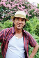 Hideki Saijo enjoys gardening in Tokyo on Aug. 9, 2010.