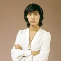 歌手の西城秀樹さん=東京都内で1973年11月、吉川秀子撮影