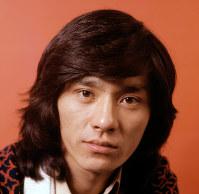 歌手の西城秀樹さん=1974年11月