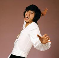 歌手の西城秀樹さん=1973年11月