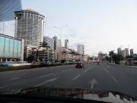 アンゴラの首都ルアンダの街並み=西谷文和さん撮影