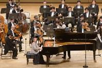 NHK交響楽団4月定期公演、Cプロに出演したピリス=NHK交響楽団提供