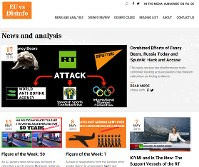The website EUvsDisinfo, designed to counter Russian information warfare, checks news stories and determines if they are fake or not. (Mainichi)