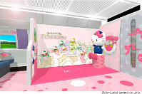 The Hello Kitty Shinkansen