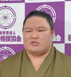Ozeki Goeido (Mainichi)