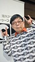 原ゆたかさん=広瀬登撮影