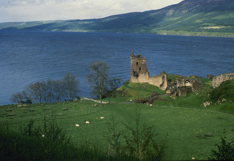 This undated file photo shows Scotland's 23-mile long Loch Ness, home of the elusive monster, Nessie. (AP Photo, File)