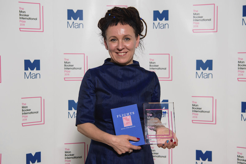 Polish writer makes Booker Prize history