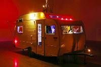 ジャネット・カーディフ&ジョージ・ビュレス・ミラー展の展示の一部=金沢21世紀美術館提供(木奥恵三さん撮影)