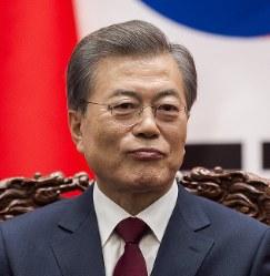 South Korean President Moon Jae-in (AP)