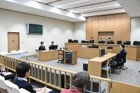 The Tokushima District Court in Tokushima is seen in this Dec. 18, 2017 file photo. (Pool)
