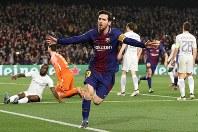自身にとって初のサッカーW杯優勝を狙うアルゼンチン代表のエース、メッシ=ロイター