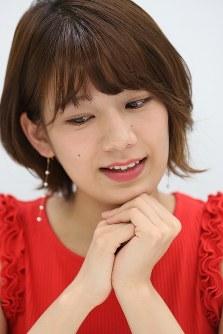 インタビューに答える佐藤美希さん=東京都目黒区で2018年5月、小座野容斉撮影