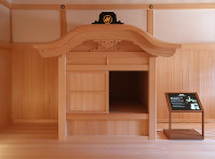 The Yudono Shoin, the shogun's bathroom, is seen in Nagoya Castle's rebuilt Honmaru Palace in Nagoya's Naka Ward, on June 4, 2018. (Mainichi)