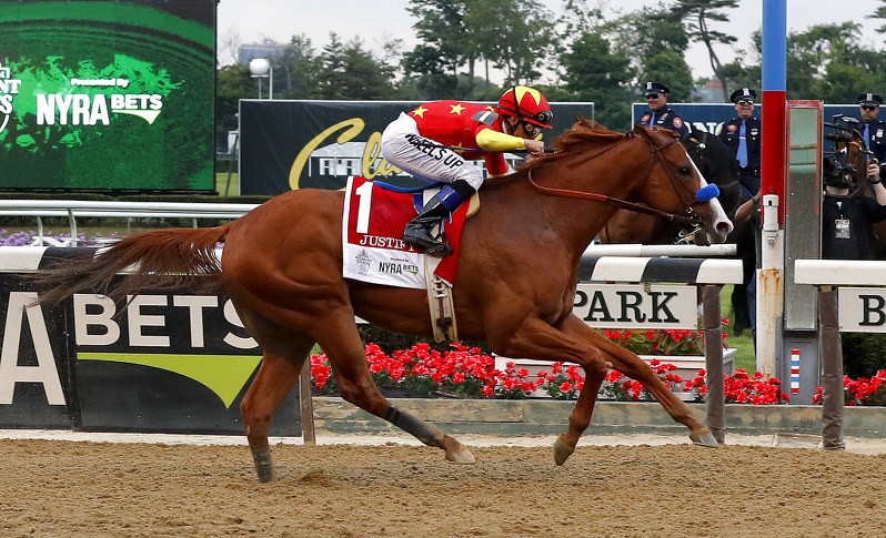 Lucky 13th Triple Crown had by Baffert's Justify