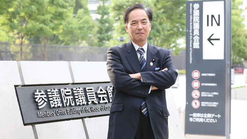 浅田均氏=太田康男撮影
