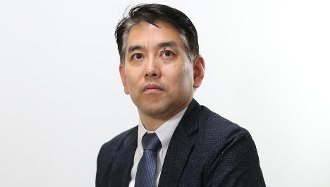 米村耕一・外信部副部長=太田康男撮影