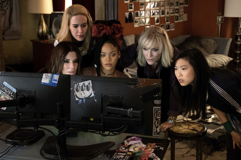 'Ocean's 8' is No. 1 at the Box Office