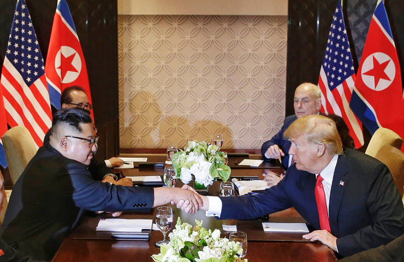 The most freakish  moments from Kim-Trump summit