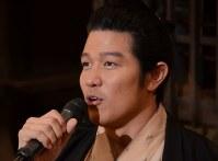 主演の鈴木亮平さん=東京都渋谷区で2018年6月13日午後0時2分、井上知大撮影