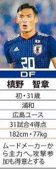 「20」DF槙野智章