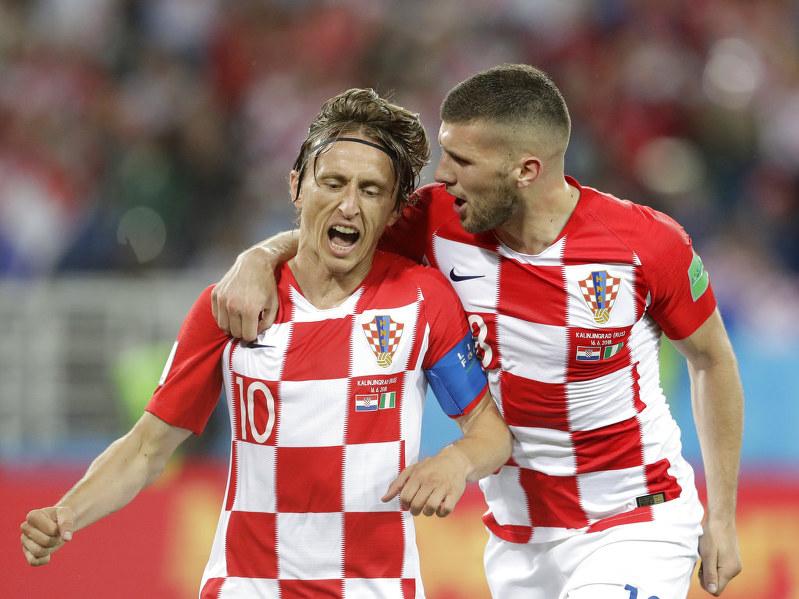 wholesale dealer ebec2 1578e Modric scores 1, sets up another as Croatia tops Nigeria 2-0 ...