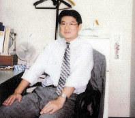 1999年、本日本興業銀行時代の勝又社長。格付け機関への対応に神経を擦り減らした=本人提供