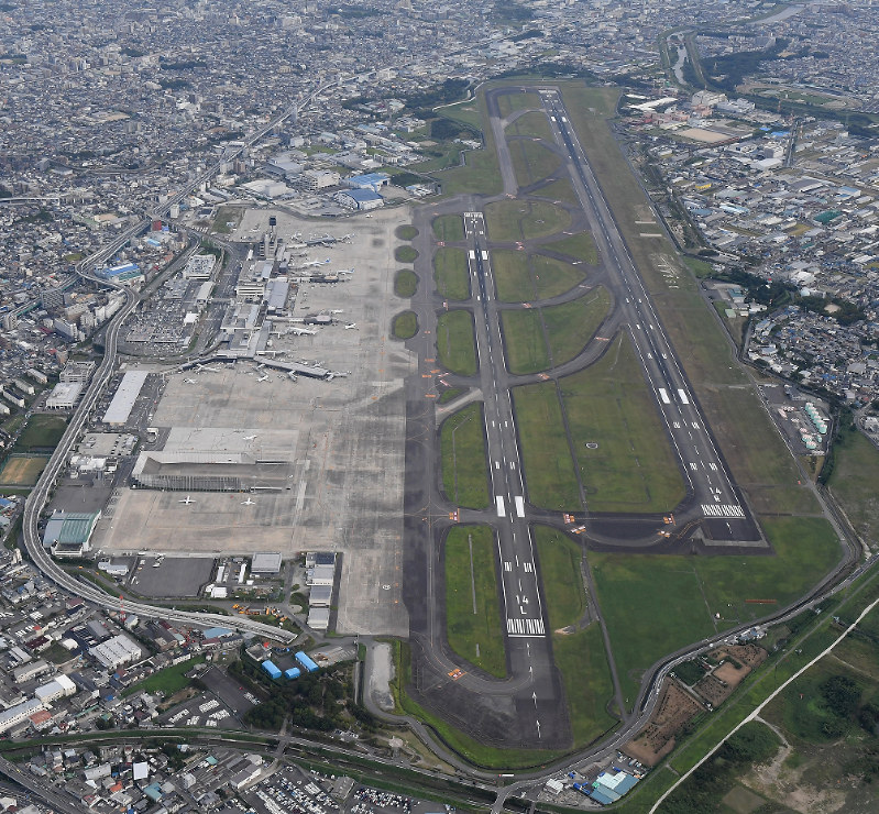 Osaka International Airport in Toyonaka Osaka Prefecture is seen in this file