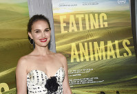 In this June 14, 2018 file photo, producer Natalie Portman attends a special screening of