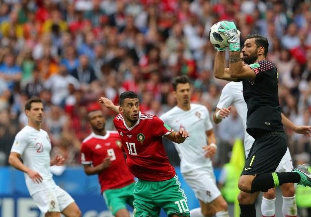 ロシアW杯:ポルトガル初勝利 モロッコは1次リーグ敗退 - 毎日新聞