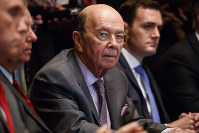 U. S. Secretary of Commerce Wilbur Ross listens during a meeting between President Donald Trump and Republican members of Congress on immigration in the Cabinet Room of the White House, on June 20, 2018, in Washington. (AP Photo/Evan Vucci)