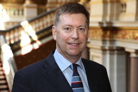 British Ambassador to Japan Paul Madden