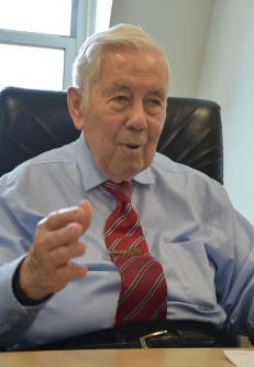 Former U.S. Senator Richard Lugar (Mainichi)