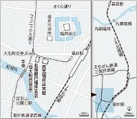 福井市中心部