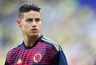 ハメス・ロドリゲス(コロンビア)=ロイター/1991年7月12日生まれの26歳。ポジションはMF