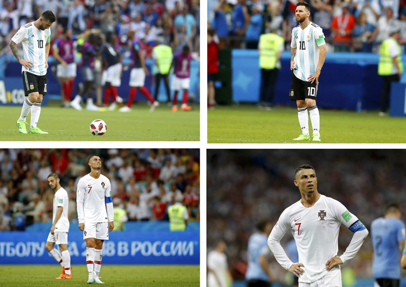 Ronaldo tight-lipped on future after #WorldCup KO