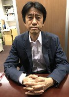 後藤啓二さん=坂根真理撮影