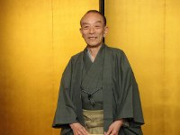 Rakugo storyteller Katsura Utamaru is seen on April 27, 2007, after it was decided to honor him with the