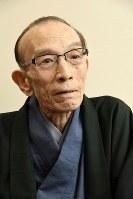 Rakugo storyteller Katsura Utamaru is seen on March 23, 2017. (Mainichi)