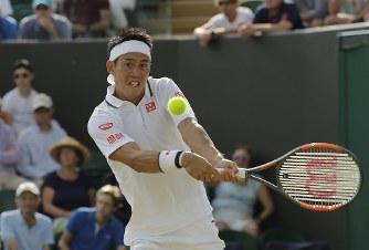 テニス:ウィンブルドン選手権 錦織逆転、3回戦進出 - 毎日新聞