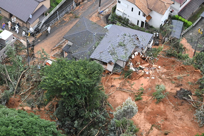 15 dead, 50 reported missing as heavy floods hit Japan