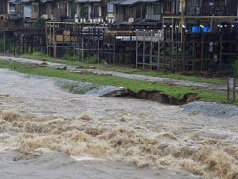 死者4人、行方不明1人 住宅被害1000棟超 府内 /京都