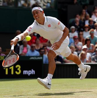 テニス:ウィンブルドン選手権 錦織、4強の壁 - 毎日新聞