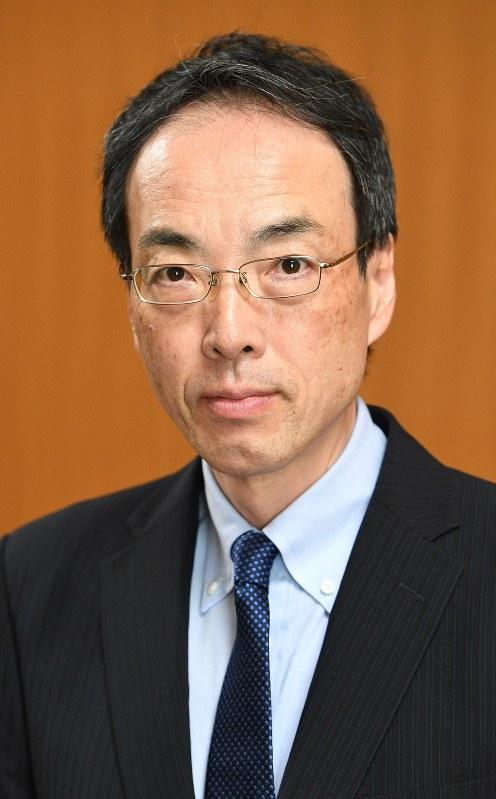 金融庁の森信親前長官=2017年7月14日、丸山博撮影