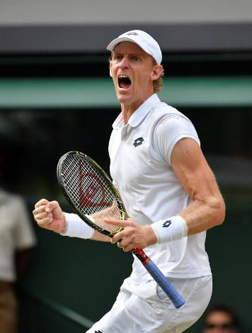 テニス:ウィンブルドン選手権 アンダーソン決勝へ 6時間半、最終 ...