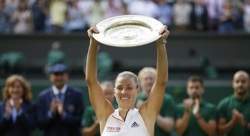 Germany's Kerber beats Serena to win Wimbledon women's title