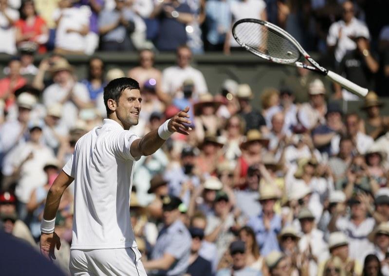 テニス:ウィンブルドン選手権 ジョコビッチ頂点 - 毎日新聞