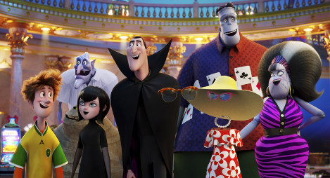 This image released by Sony Pictures Animation shows a scene from
