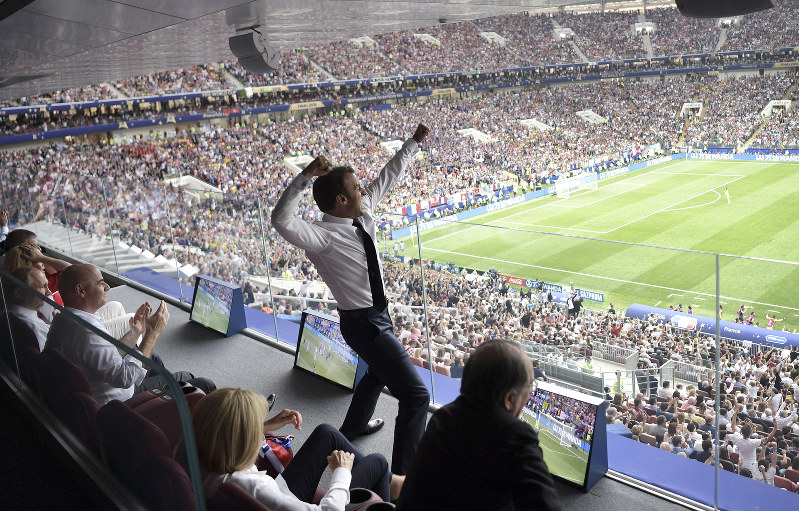 Social media reacts to France's World Cup win