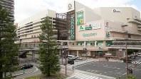 工場跡地を再開発し複合施設が整備されたJR尼崎駅北口